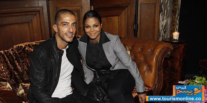 جانت جکسون و همسرش