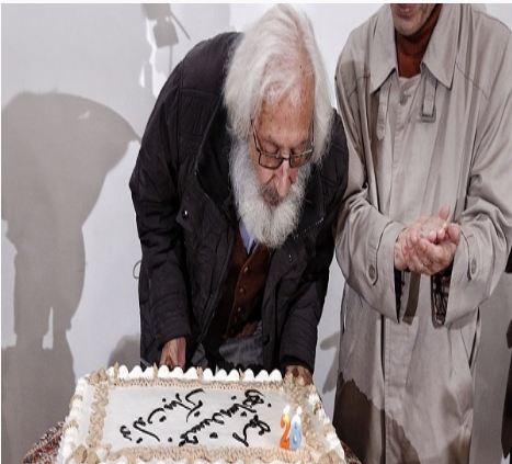 جمشید مشایخی 82 ساله شد