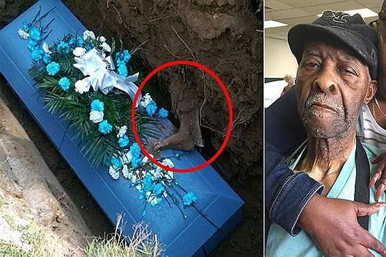 ماجرای پای بیرون آمده از قبر چیست؟ + عکس