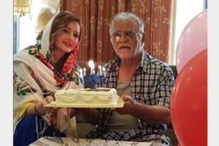 جشن تولد ۷۶ سالگی مهدی فخیم زاده+عکس