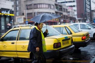 کاهش دمای هوا در تهران/هوای پایتخت سالم است