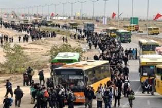 8000 اتوبوس زائران اربعین را جا به جا می کنند